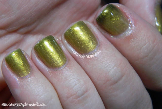 Mrs. P's Nail Potions Gold Digger