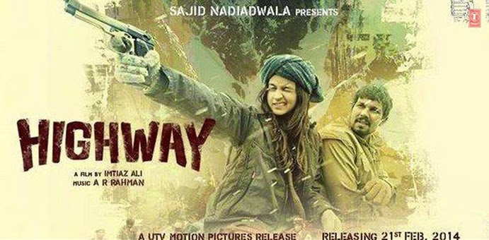 Highway Bollywood Movie Poster