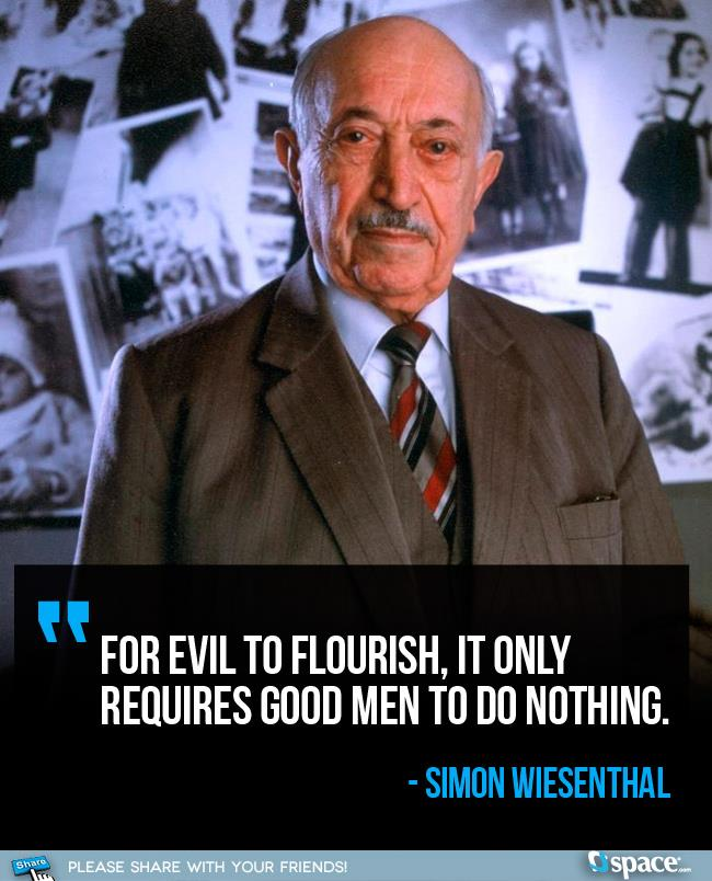 simon wiesenthal quotes quotesgram