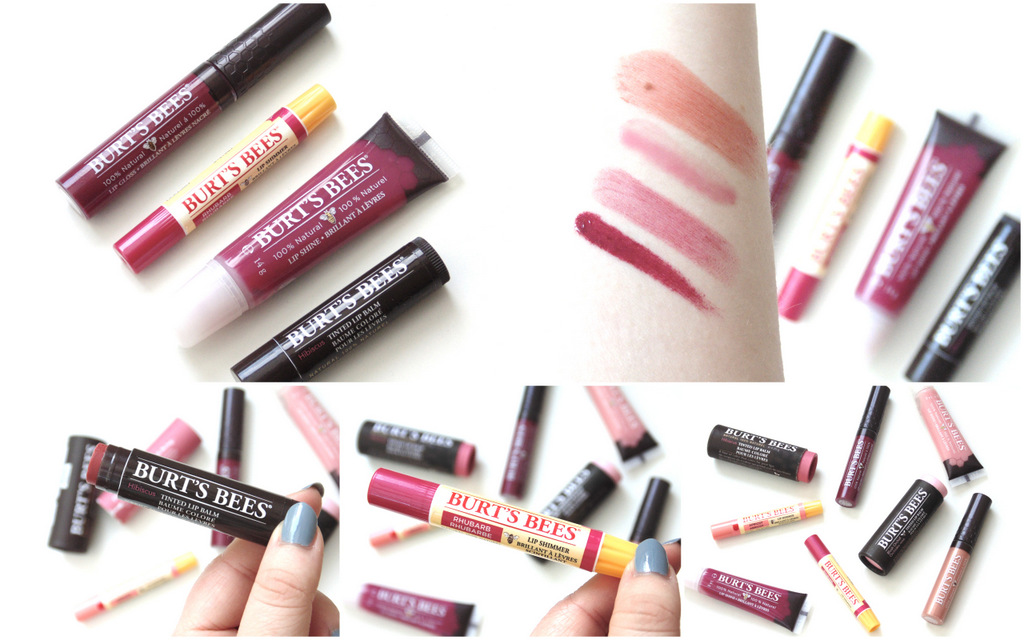 Review: Burts Bees Lip Glosses, Shimmer + Shine