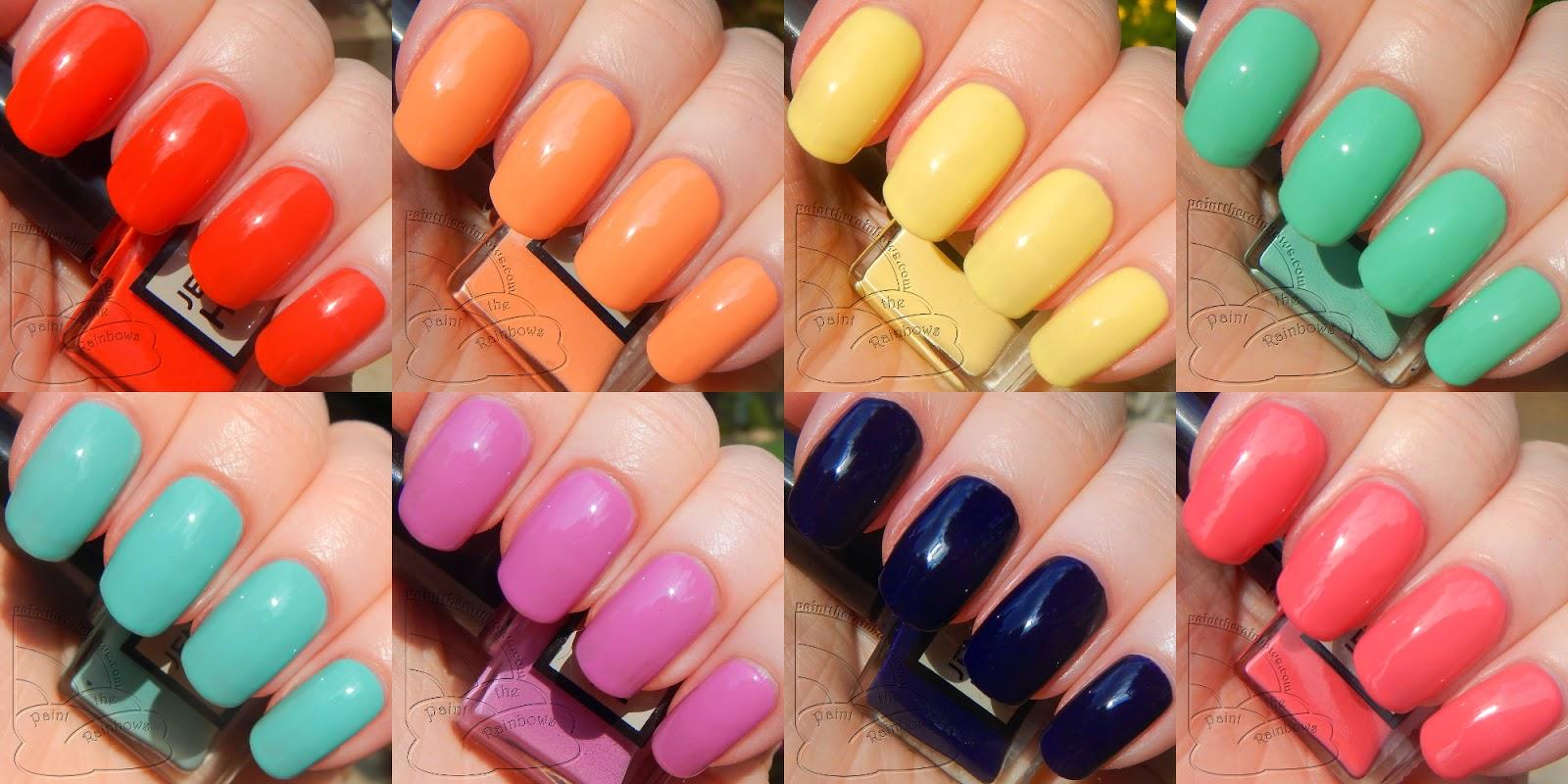 paint the rainbows ☆彡: Jenna Hipp for Costco: New Brights ...