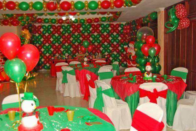 decoracion de fiestas de navidad parte 1