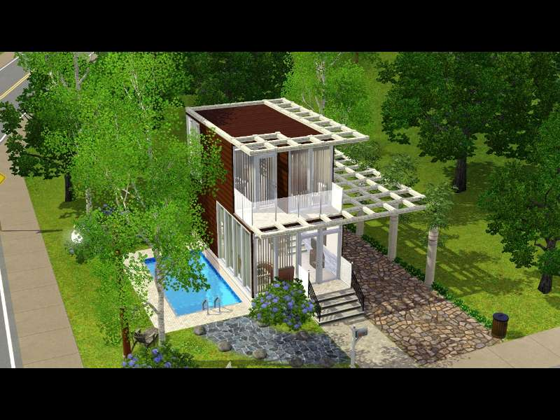 Sims 3 Mansion Designs The Sims 3 House Design