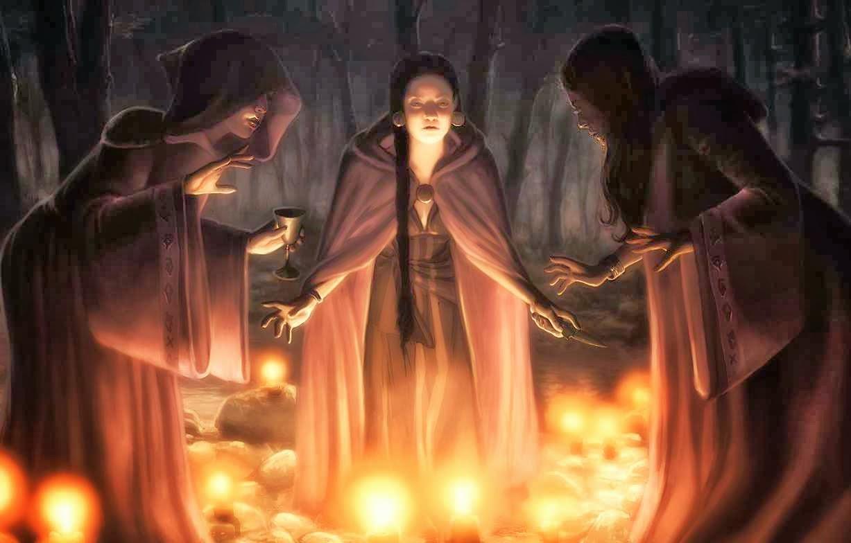 Как пройти посвящение в ведьмы самой