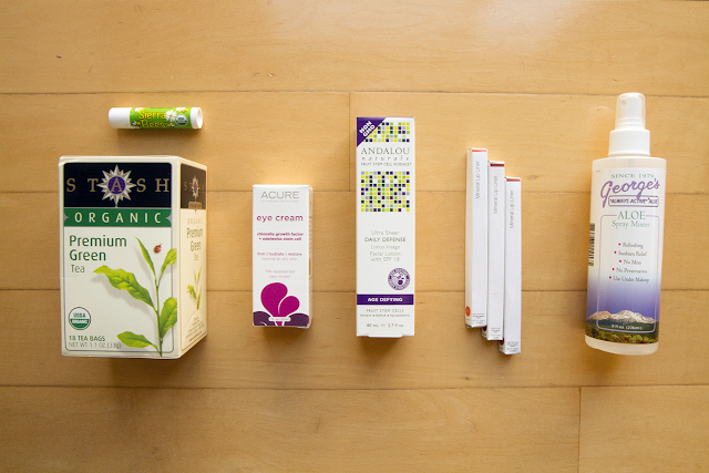 Photo of products purchased from iHerb.
