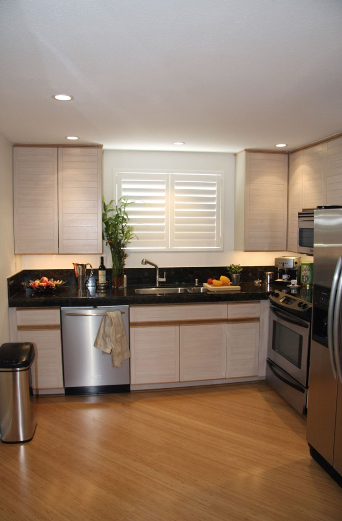 Home office renovation contractor condo kitchen design for Kitchen renovation styles