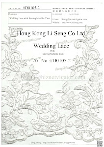 Wedding Lace Trims Art No.:#D0105-2
