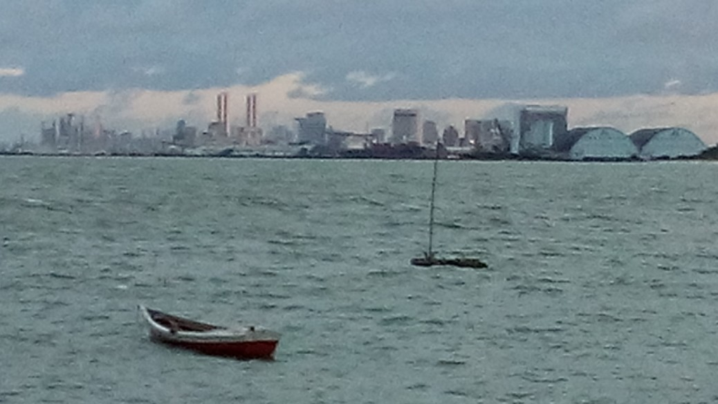 Recife vista de Olinda