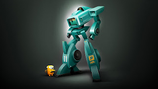 The Robot Spectrum Xl11 Digital Art 3d HD Wallpaper