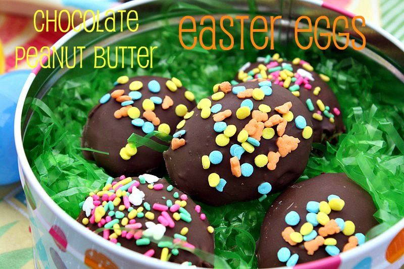 ... Cooking & Family Friendly Recipes: Chocolate Peanut Butter Easter Eggs