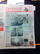 """Artikel in der BERNER ZEITUNG """"Die Frau in Weiss"""""""