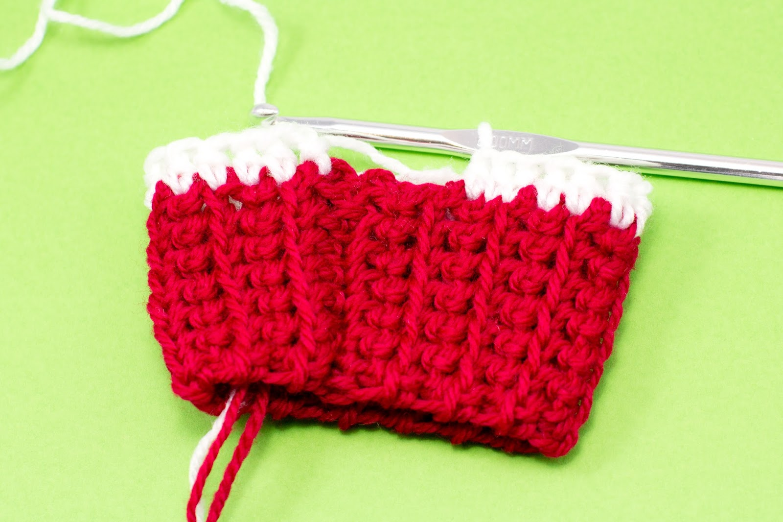 Craft crochet create adult candy cane leg warmers crochet pattern