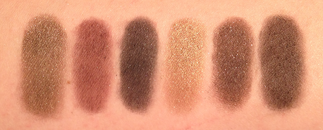 thebalm nude 'tude palette swatches