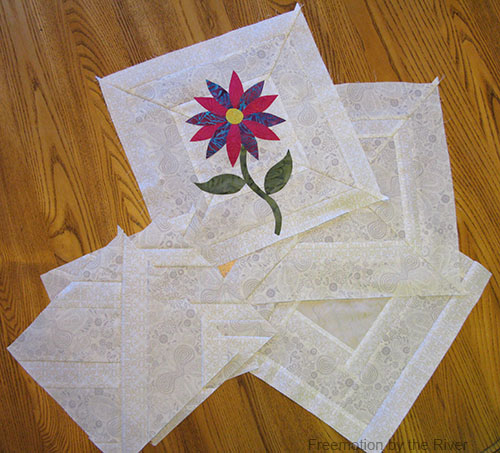 Lots of backing ideas for applique