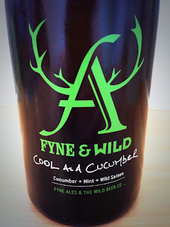 Cool as a Cucumber beer Wild Beer Bristol and Fyne Ales