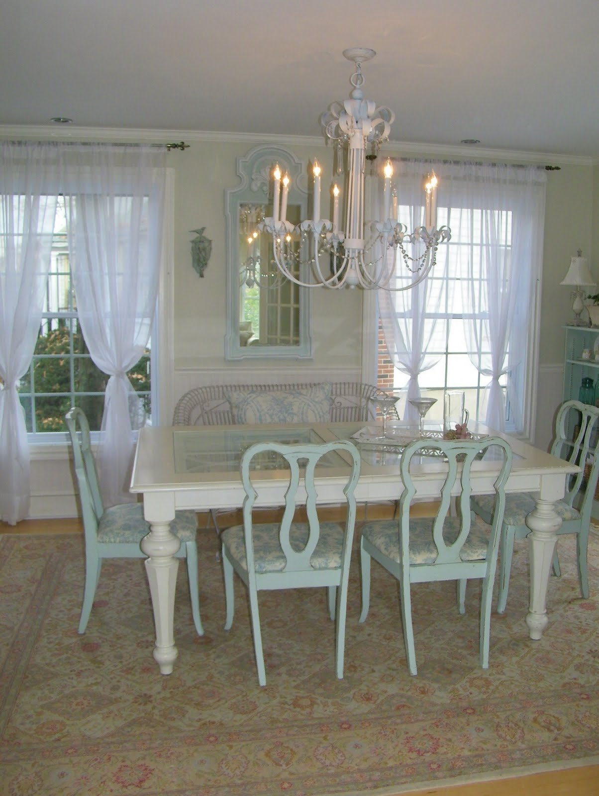 maison decor musical chairs and drapes and cabinets