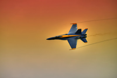 photographing airshows