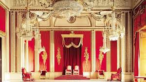 Throne Room Buckingham Palace