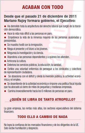 Marcha a Madrid el 15S. Abuelohara