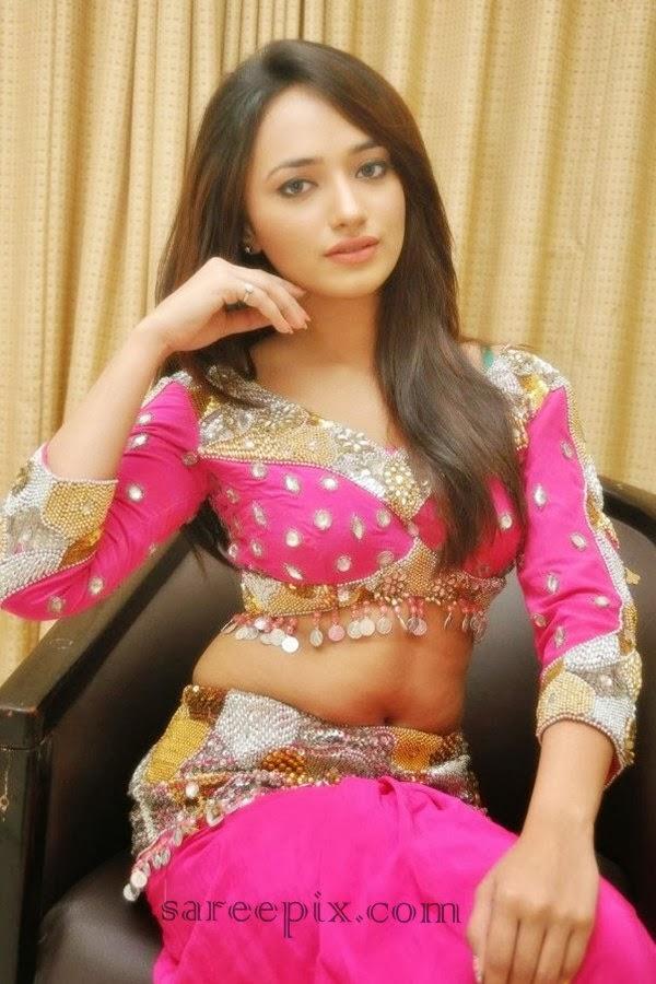actress ziya in pink lehenga electrihot