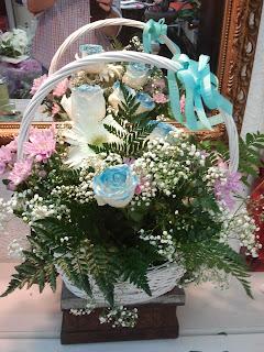 Rosas azules a domicilio