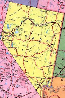 Reno in Nevada Map