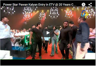 Power Star Pawan Kalyan Dynamic Entry in ETV @ 20 Years Celebrations | Every Pawan Kalyan Fan Must Watch And Share