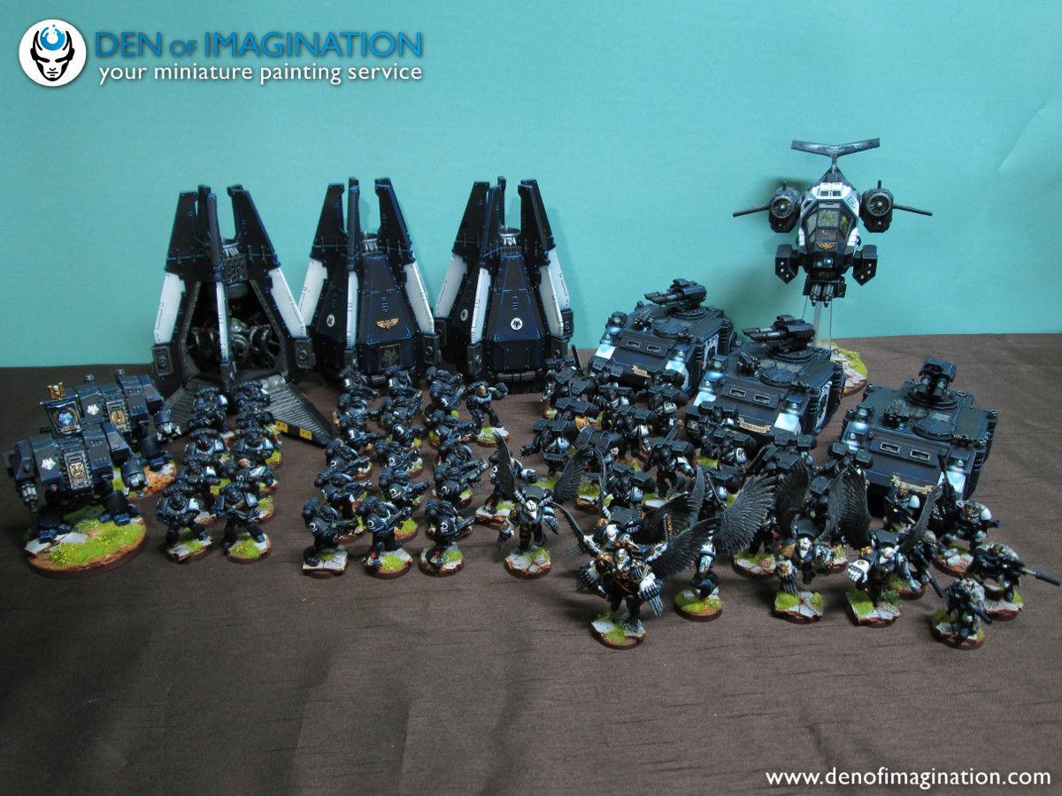 Space Marine STERNGUARD Veteran munitions sachets//ceintures-bits 40K