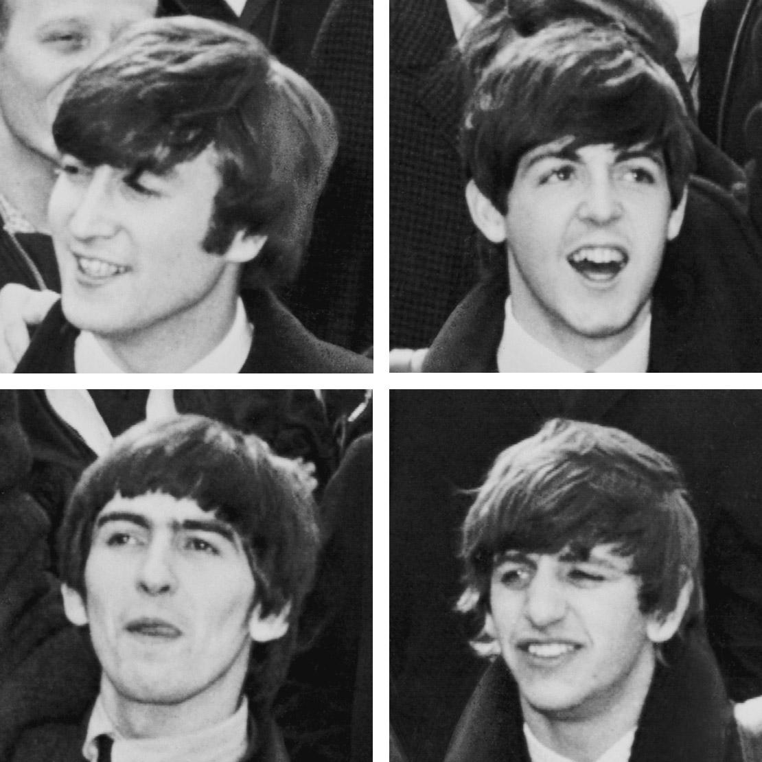 Kisah Para Musisi Mei 2011 The Little Things She Needs Lida Pink Sepatu Flat Merah Muda 36 Beatles Pada Tahun 1964 Dari Atas Kiri Ke Kanan John Lennon Paul Mccartney George Harrison Ringo Starr