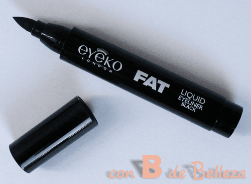 Fat black liquid eyeliner Eyeko