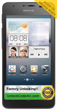 Network Unlock Code for Huawei Ascend G510