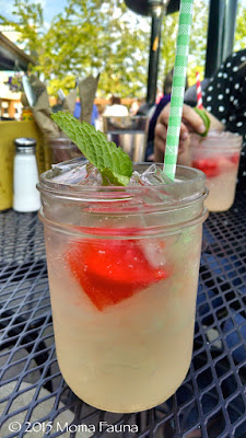 (...or a local rhubarb-infused vodka, paired with  friendship & sacred choreography planning)