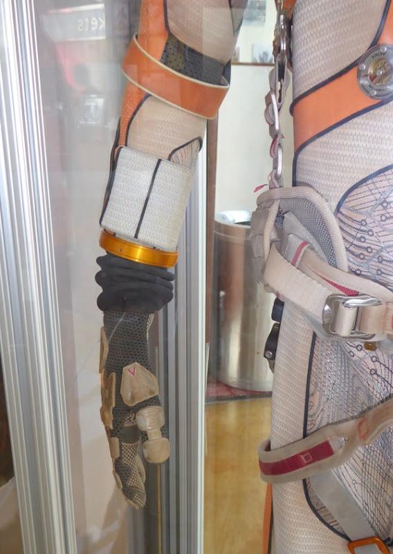The Martian NASA spacesuit detail