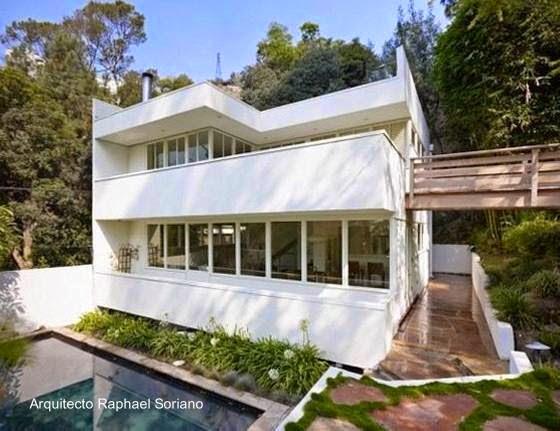 Casa residencia estilo Internacional Polito House en Los Ángeles, California 1938