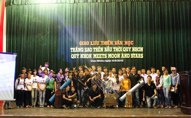 1 - Ngày 16/8, quy tụ bạn trẻ yêu thiên văn tại Đà Nẵng