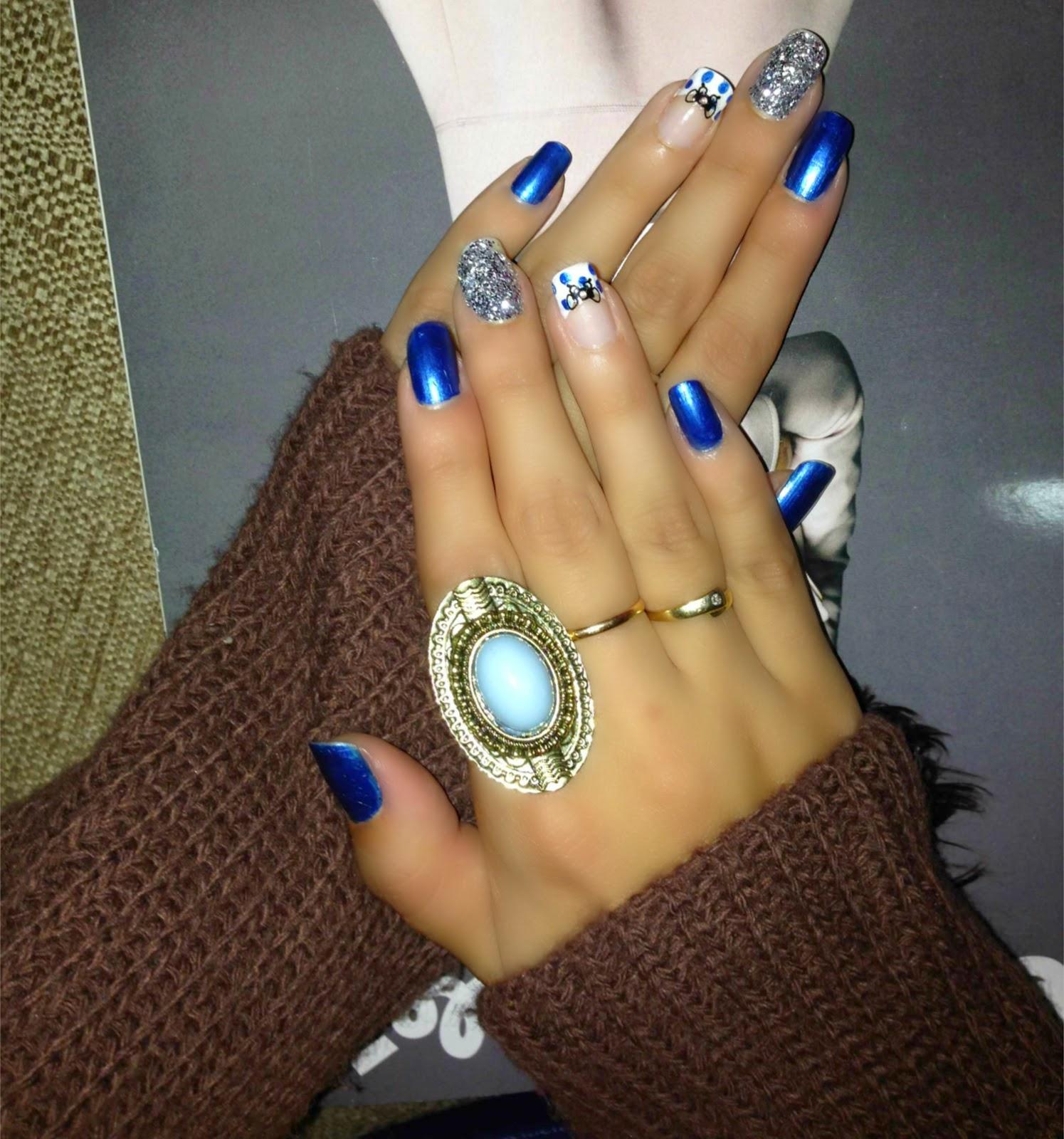 Desde mi armario: Diseño uñas navideñas II