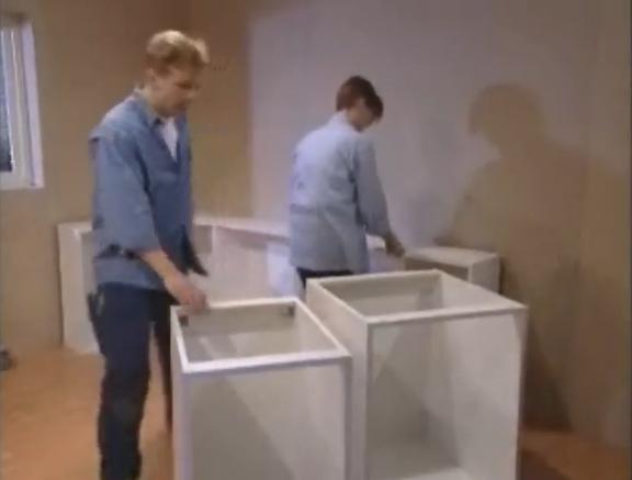 Instalación de mueble de cocina de ikea 1