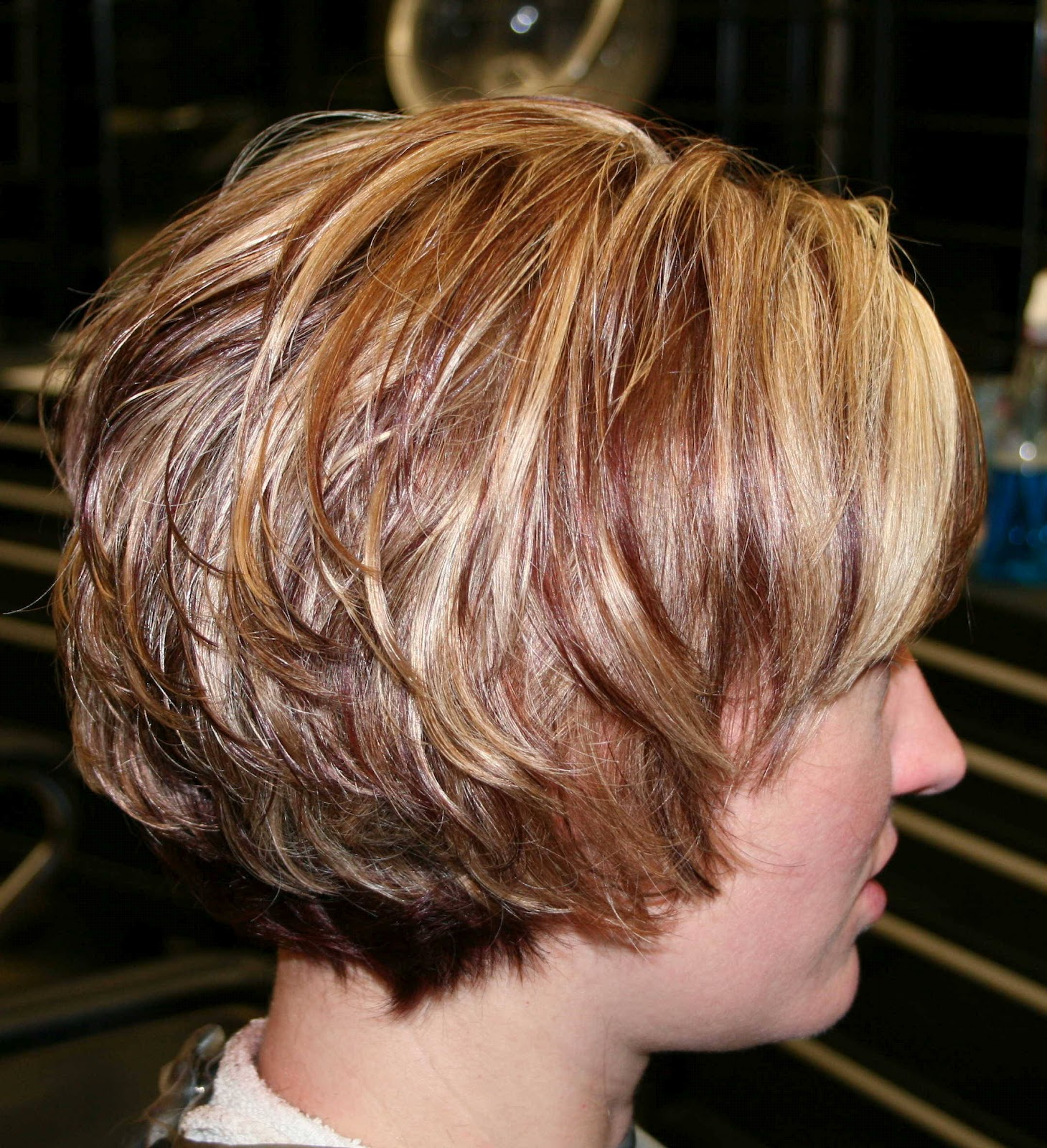 Latest Hair Styles: Short Haircuts for 2012, Angled and Layered Bob Hairstyle