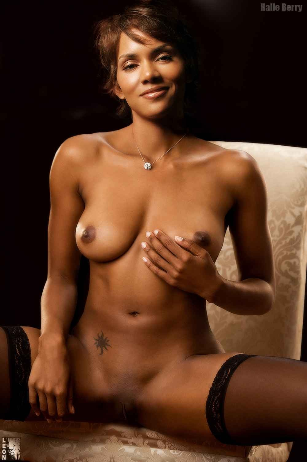berry pictures Halle nude