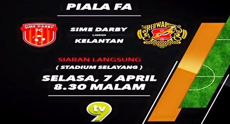 SIME DARBY FC   VS   KELANTAN