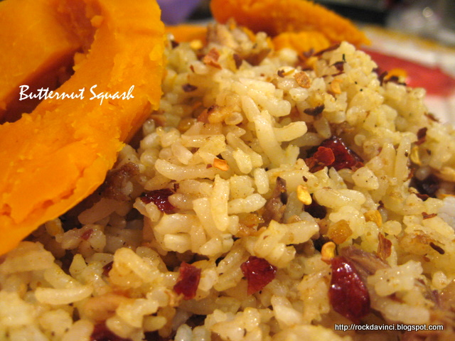 ... - Cook Away!: Pilaf Style Rice with Cranberries and Tagine Chicken