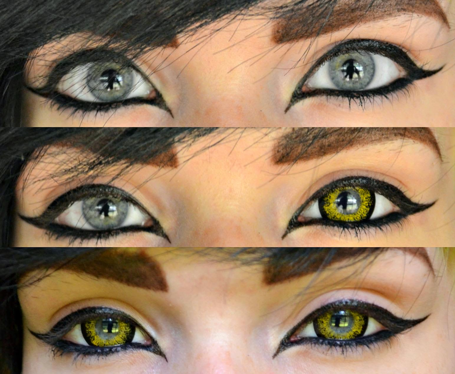 Vibrant Gold Circle Lenses: Beuberry CH Gold