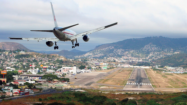 Aeropuertos más peligrosos del mundo: Toncontín