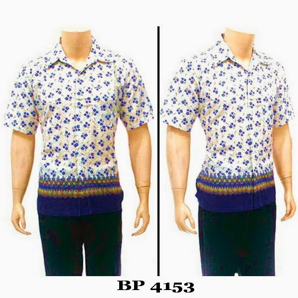 Baju Hem Batik Pria BP4153
