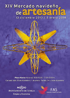 Mercado Navideño de Artesanía - Sevilla 2013