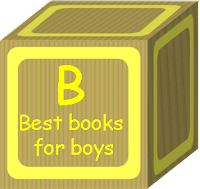 books for boys, home library, literacy, ready set read, images