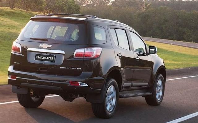 Chevrolet Trailblazer LTZ 2013: fotos, preços e especificações