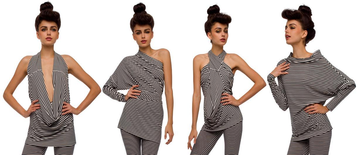 Details about rare norma kamali everlast m white leopard dress tunic