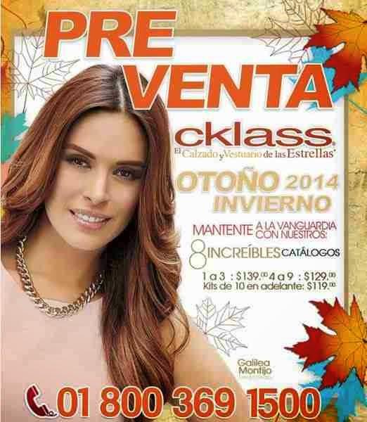 catalogo cklass preventa OI 2014