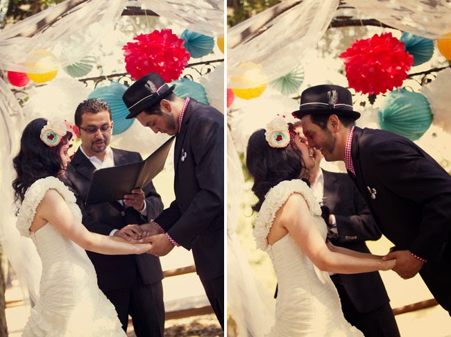 Rockabilly Style Wedding Inspiration Photos